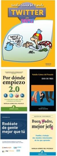 Libros publicados de Natalia Gómez del Pozuelo